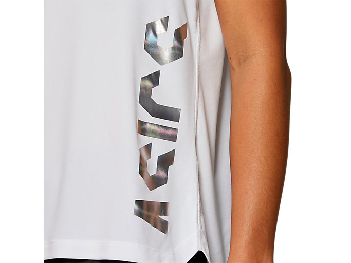 Alternative image view of EMPOW-HER SS TOP, BRILLIANT WHITE