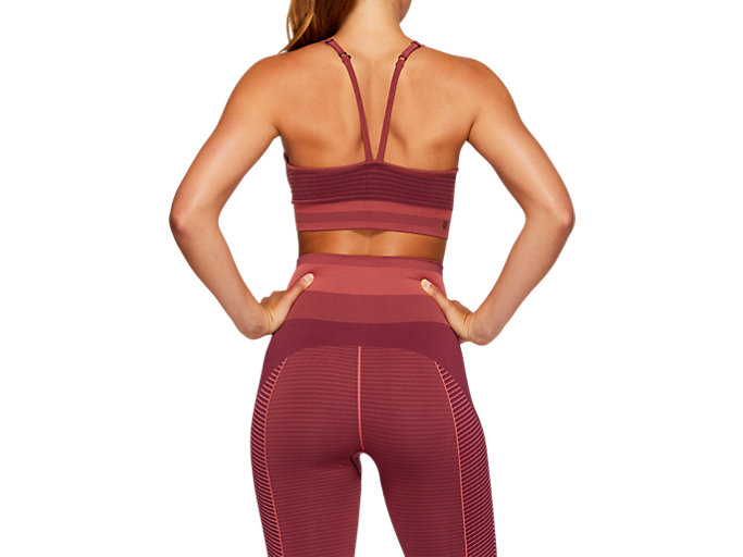Back view of VIVID IN MOTION Strappy Seamless Bra