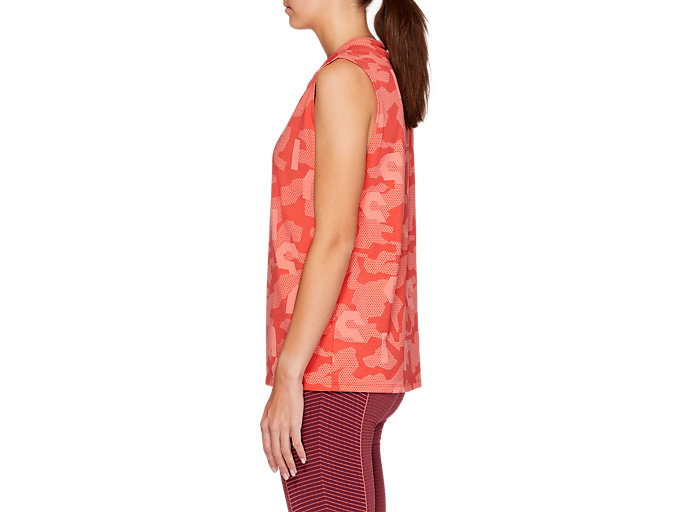 Side view of VIVID IN MOTION Muscle Tank