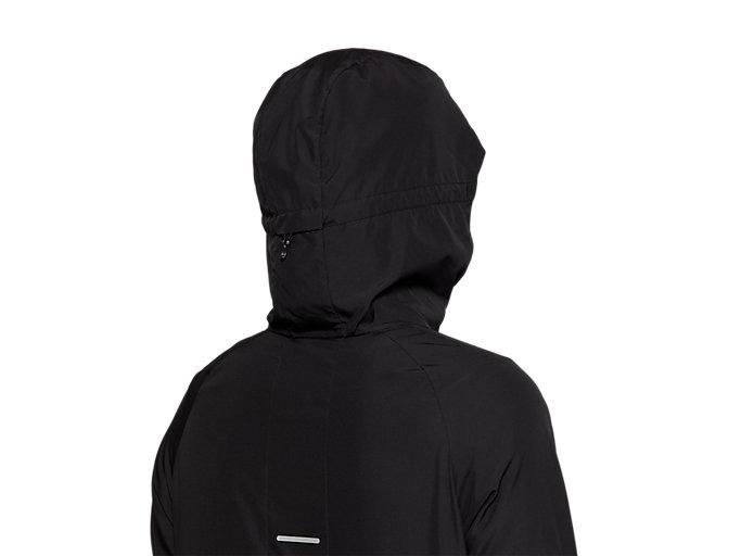 Alternative image view of RUN HOOD JACKET, PERFORMANCE BLACK