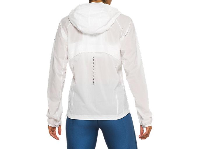 Back view of Metarun Waterproof Jacket