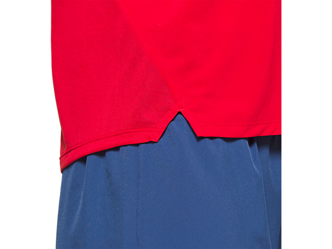 Alternative image view of RACE SS TOP, CLASSIC RED