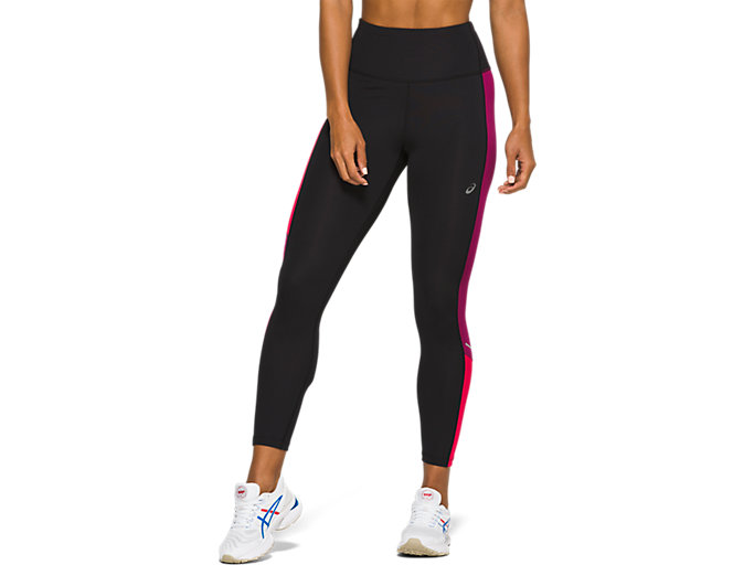 asics Highwaist Tights Dames, performance black