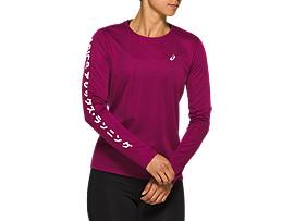 Sportshirts Lange Mouwen voor Dames   ASICS