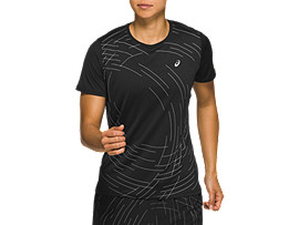 NIGHT TRACK SHORT SLEEVED TOP
