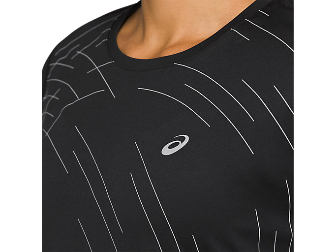 Alternative image view of Night Track Short Sleeve Top
