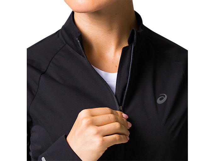 Alternative image view of W'Sランニングブリーズジャケット, パフォーマンスブラック