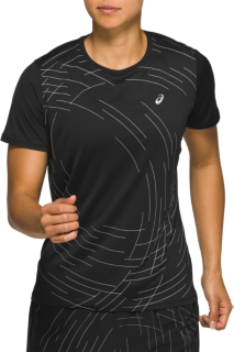NIGHT TRACK反光跑步短袖T恤