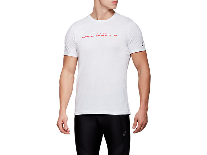 METARIDE SS TOP, BRILLIANT WHITE