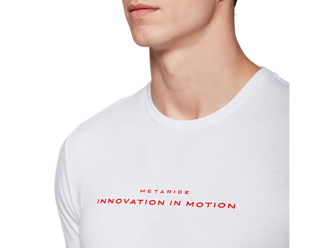 Alternative image view of METARIDE SS TOP, BRILLIANT WHITE