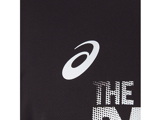 Alternative image view of TM ランニングショートスリーブトップ, パフォーマンスブラック