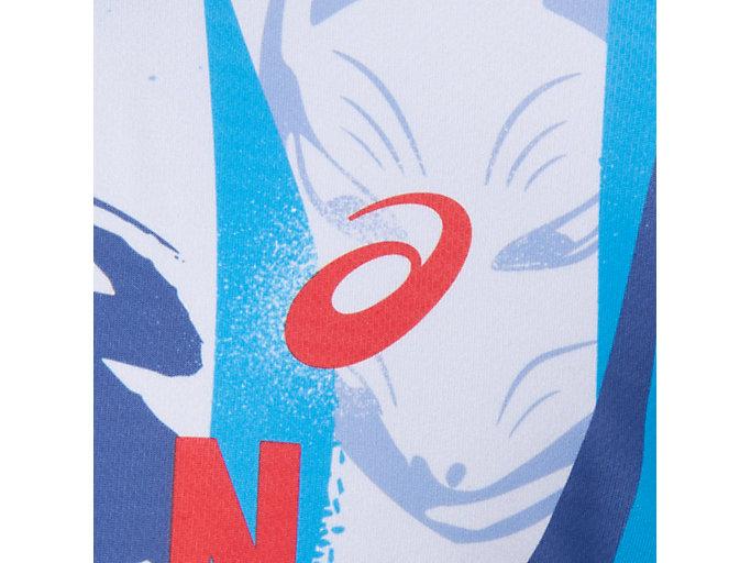 Alternative image view of TM ランニングショートスリーブトップ, ディレクトワールブルー