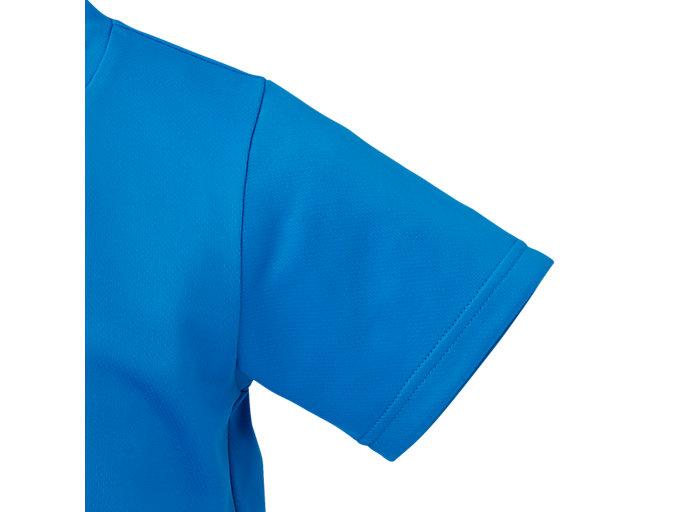 Alternative image view of TM KIDSランニングショートスリーブトップ, ディレクトワールブルー