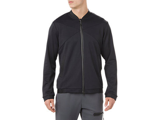 VESTE DE SURVÊTEMENT HEX BLOCK, PERFORMANCE BLACK