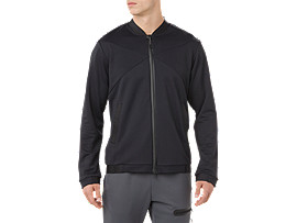 HEX BLOCK TRACK JACKET, PERFORMANCE BLACK