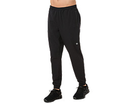 STRETCH WOVEN PANT, PERFORMANCE BLACK