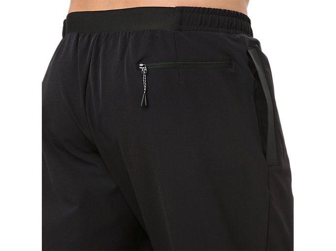 Alternative image view of STRETCH WOVEN PANT, PERFORMANCE BLACK