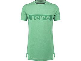 남성 트레이닝 아식스 그래픽 반팔 라운드 티셔츠