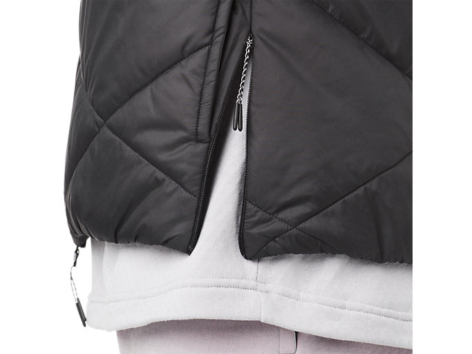 Alternative image view of GEL-HEAT INSULATION JACKET, PERFORMANCE BLACK
