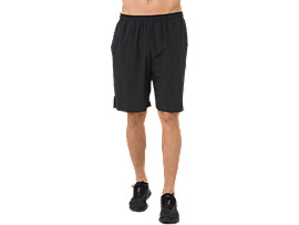 POWER WOVEN SHORT 9IN, PERFORMANCE BLACK