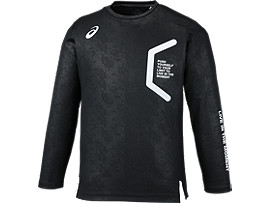 LIMOロングスリーブシャツ, BLACK/BLACK