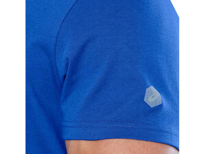 Alternative image view of ESNT DIAGONAL SS TOP, ILLUSION BLUE