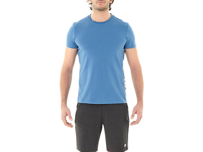 Alternative image view of ESNT DBL GPX SS TOP, AZURE/MID GREY