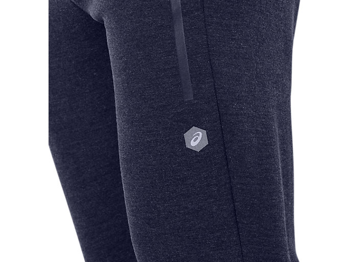 Alternative image view of TAILORED PANT, PEACOAT HEATHER