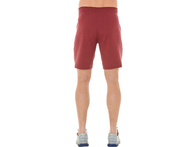 Alternative image view of TAILORED SHORT, CORDOVAN HEATHER