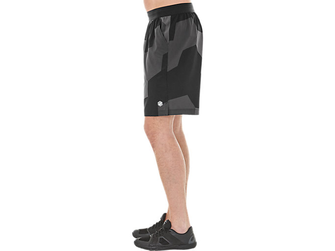 Alternative image view of GPX WOVEN SHORT, GEO HEX PERFORMANCE BLACK