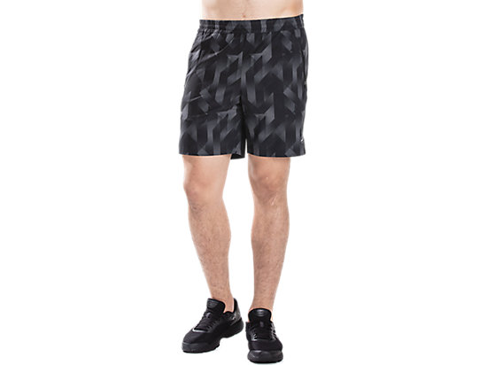 AOP GRAPHIC SHORT PERFORMANCE BLACK/CARBON