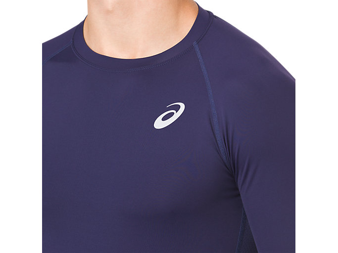 Alternative image view of ASICS BASE LAYER LS TOP, PEACOAT