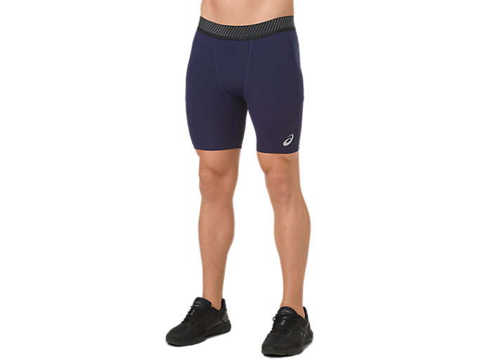 Alternative image view of ASICS BASE LAYER SPRINTER 7IN, PEACOAT