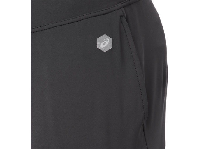 Alternative image view of FITTED KNIT PANT, PERFORMANCE BLACK x BRILLIANT WHITE