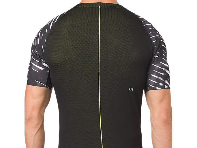 Alternative image view of ASICS BASE LAYER G SS TOP, PERFORMANCE BLACK