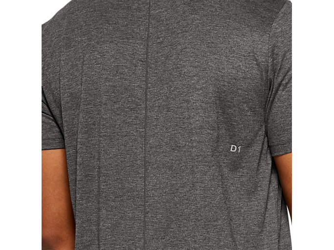Alternative image view of ESSENTIAL COTTON BLEND GPX SS TOP, PERFORMANCE BLACK HEATHER