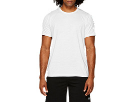 ESSENTIAL COTTON BLEND GPX SS TOP, BRILLIANT WHITE