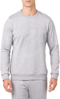 ESSENTIAL FRENCH TERRY GPX LS CREW TOP