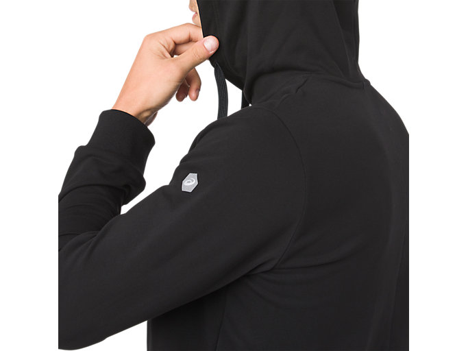Alternative image view of ESSENTIAL FRENCH TERRY GPX PO HOODIE, PERFORMANCE BLACK