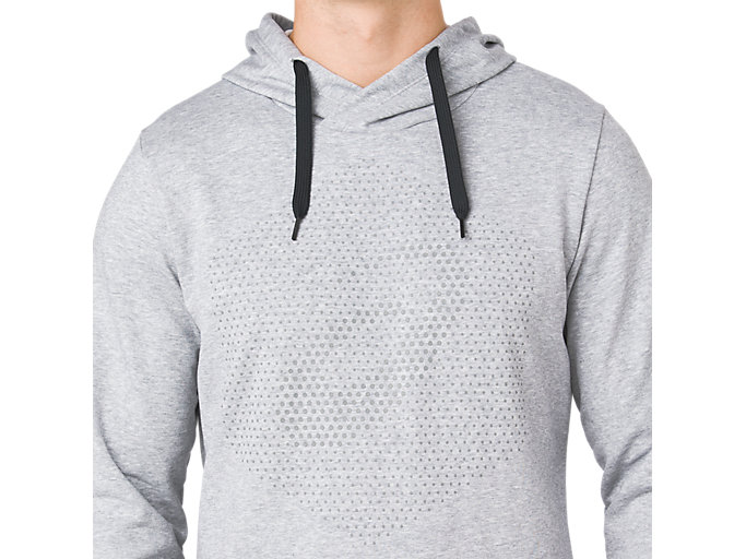 Alternative image view of ESSENTIAL FRENCH TERRY GPX PO HOODIE, STONE GREY HEATHER
