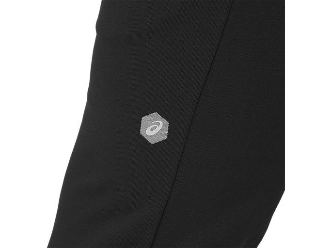 Alternative image view of ESSENTIAL FRENCH TERRY PANT, PERFORMANCE BLACK