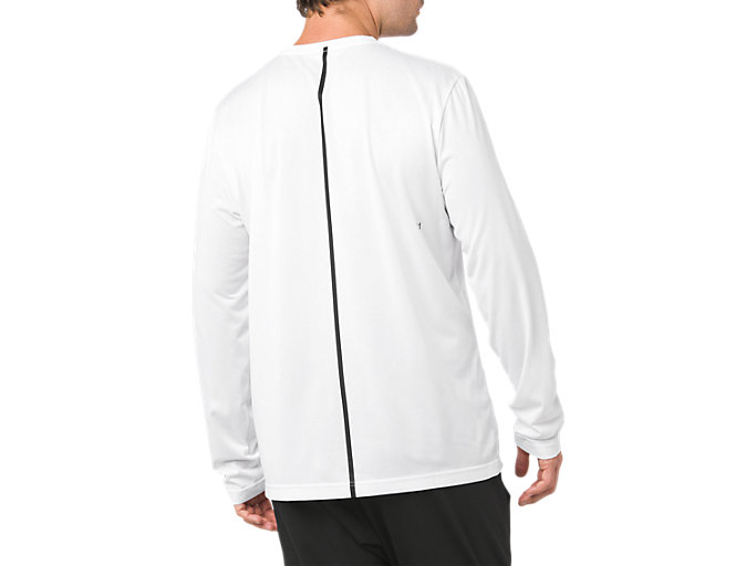 Back view of SD GPX LS TOP, BRILLIANT WHITE