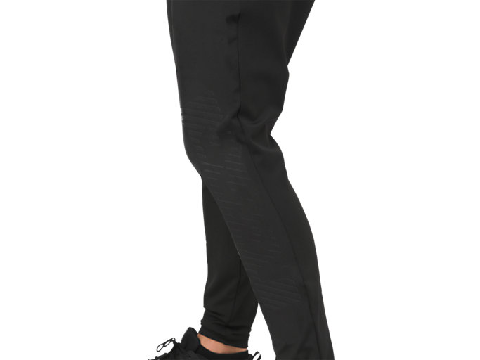 Alternative image view of FITTED KNIT PANT, PERFORMANCE BLACK