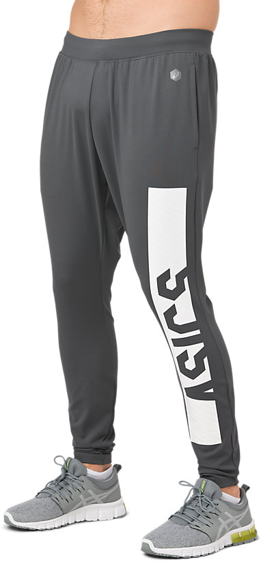 65c7564034f SD FITTED KNIT PANT | MEN | Carbon | ASICS Australia