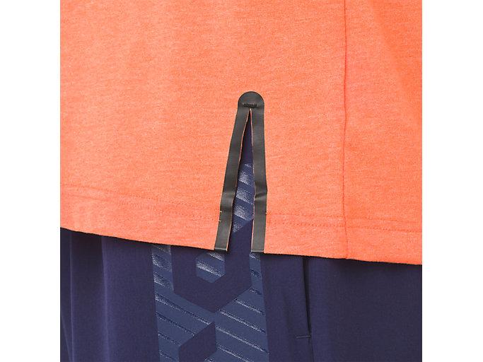 Alternative image view of GEL-COOL 2 SS TOP, NOVA ORANGE HEATHER