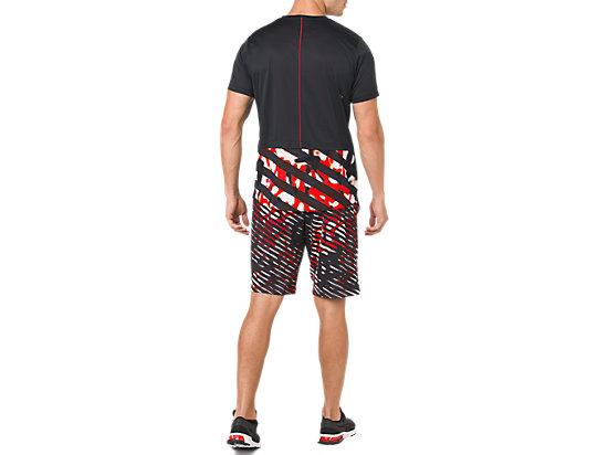 男平織9吋短褲 FIERY RED