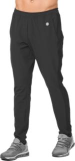 男雙材質彈性長褲