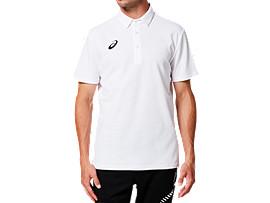 ASQR3 ポロシャツ, ブリリアントホワイト