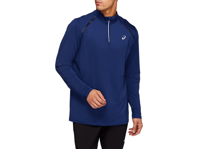Front Top view of THERMOPOLIS 1/4 Zip