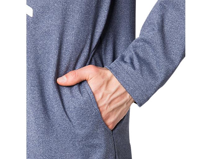 Alternative image view of LIMO®裏起毛ストレッチニットジャケット, ピーコート杢